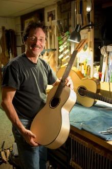 Jay Rosenblatt in his workshop