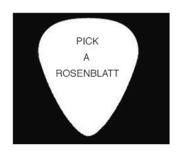 Pick a rosenblatt