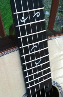 Hand-built Acoustic Guitar by Jay Rosenblatt