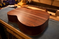 Assembled body. Cocobolo, what a beautiful wood