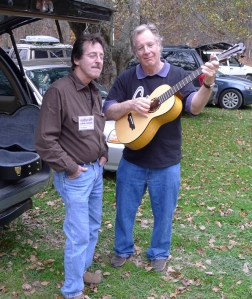 John Sebastian Playing my Maple Parlor Guitar. Photo © Jay Rosenblatt