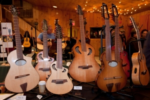 Veillette Guitars. Photo © Jay Rosenblatt.