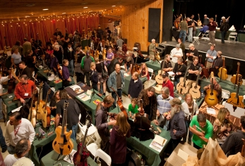 Luthiers Invitational Main floor. Photo © Jay Rosenblatt.