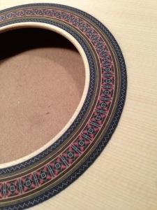 Classical rosette detail