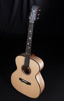 Maple and Lutz Spruce Acoustic Guitar by Jay Rosenblatt