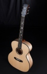 Maple and Lutz Spruce Acoustic Guitar by Jay Rosenblatt