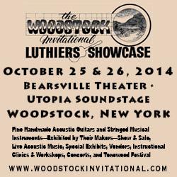 Come see Jay Rosenblatt Guitars in Woodstock, NY in October.