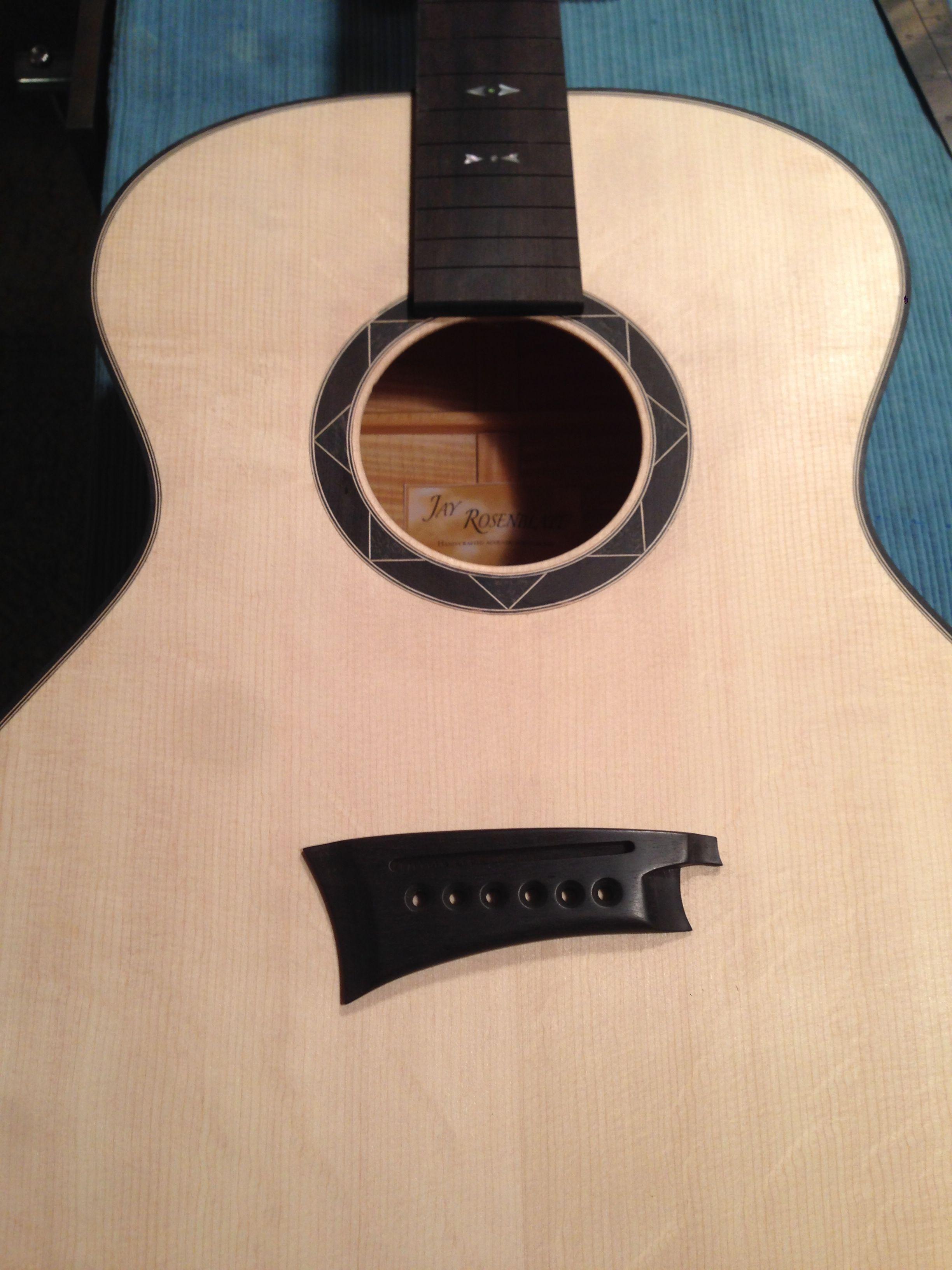 Handmade Guitar Rosette Jay Rosenblatt Guitars