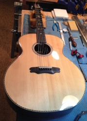 Rosewood and Sitka OM Guitar by Jay Rosenblatt