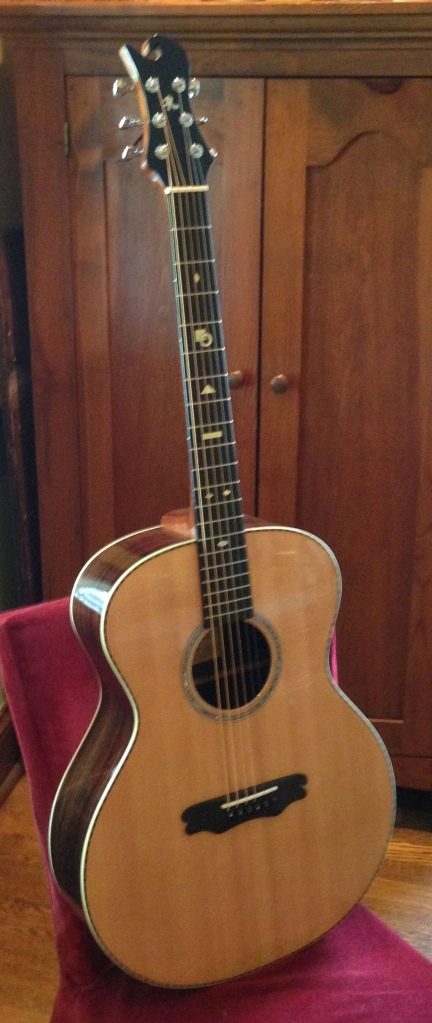 Rosewood and Sitka OM Guitar by Jay Rosenblatt