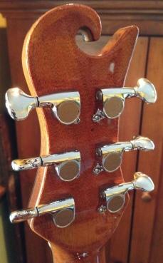 Rosewood OM tuning machines