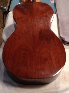 Walnut Back on parlor guitar by © Jay Rosenblatt