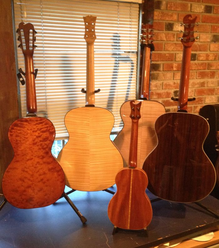 Acoustic Guitars and Ukulele by Jay Rosenblatt luthier