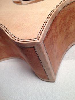 Binding detail on Cutaway by Jay Rosenblatt