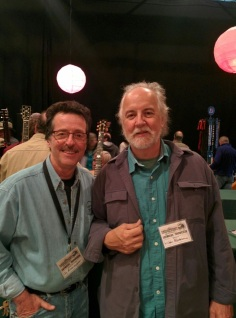 A moment to chat with master luthier John Monteleone