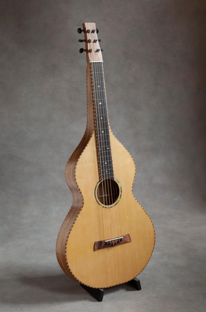 3/13/15 Completed Koa and Sitka Weissenborn Guitar by  © Jay Rosenblatt 2015