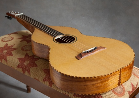 3/13/15 Completed Koa and Sitka Weissenborn Guitar by © Jay Rosenblatt 2015