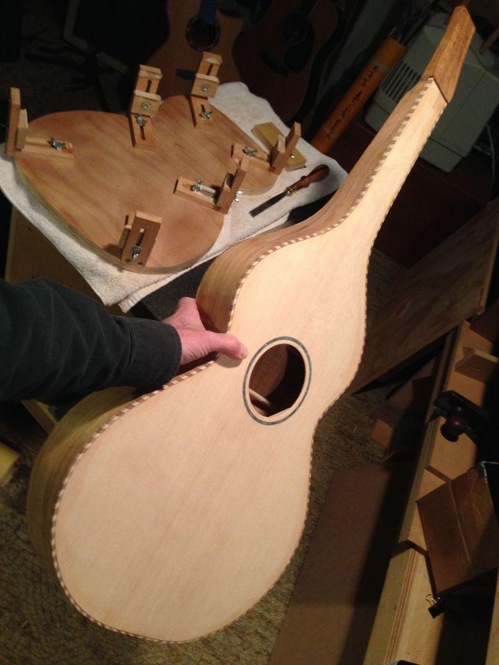 Weissenborn Guitar with rope binding by Jay Rosenblatt