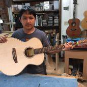 The guitar that Jack built at Jay Rosenblatt Guitars