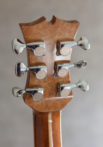 Handbuilt guitar by Jay Rosenblatt