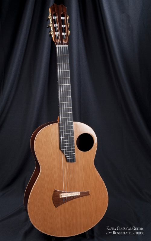 Kasha Classical Guitar by Jay Rosenblatt