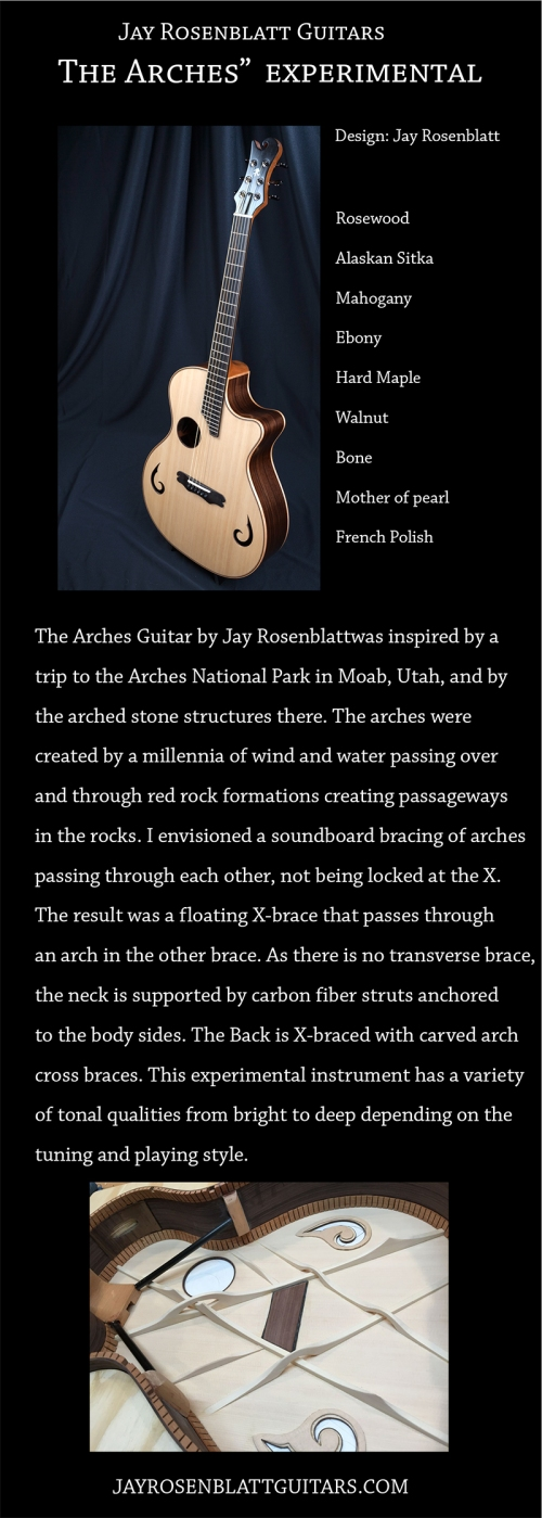 "The ""Arches Experimantal"" Guitar by Jay Rosenblatt"