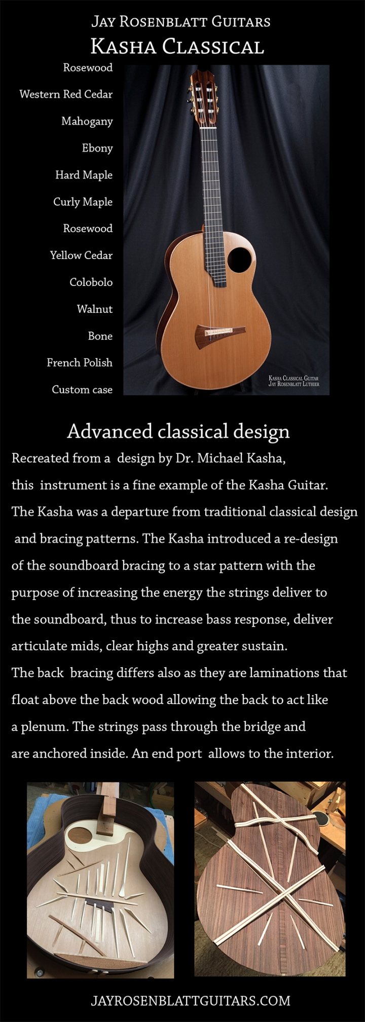 Kasha Classical built by Jay Rosenblatt