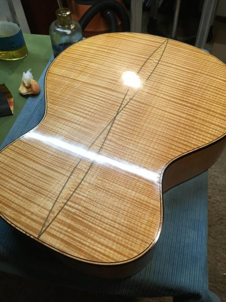 PF Maple w:french polish