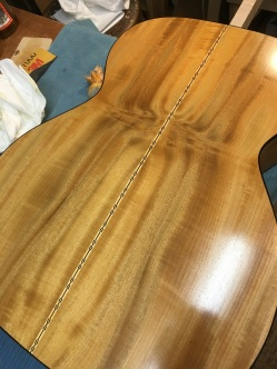Myrtle with French polish