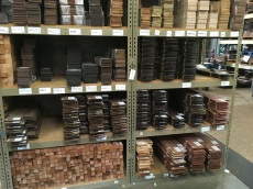 Woods at the LMI Warehouse