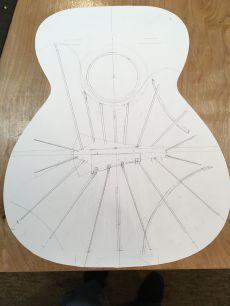 The bracing drawing